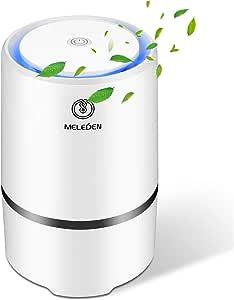 MELEDEN Purificateur d'air pour la maison avec filtres, design amélioré 2020, purificateur d'air à faible bruit, nettoyeur d'air de bureau