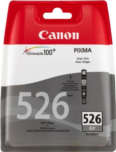 Canon CLI-526 GY Tintenpatrone 9ml, grau