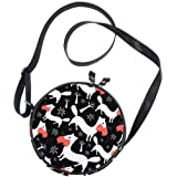Ahomy - Bolso bandolera con diseño de gato