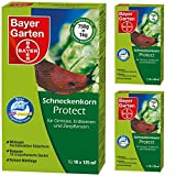 3 x 750 g Bayer anti-limaces Protect escargot Mittel