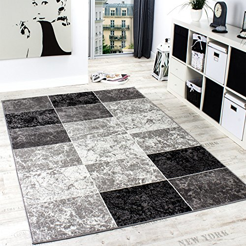 designer-rug-chequered-in-marble-visual-effect-flecked-grey-black-white-size80x150-cm