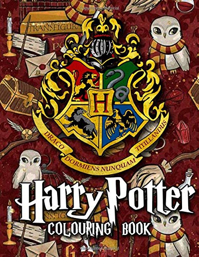 Harry Potter Colouring Book: Great Colouring Books