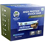 HYP Whey Protein Bar - Cookies and Cream (Box of 6 Bars)
