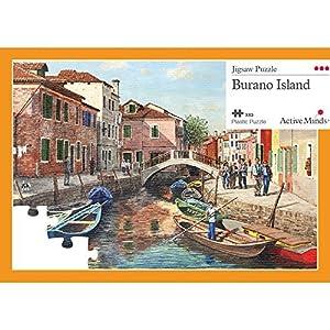 Isola di Burano Puzzle da 63 Pezzi: Attività per Anziani Specifiche per le Persone Affette da Demenza/Alzheimer di Active Minds