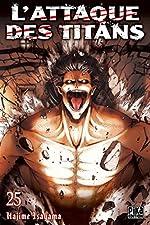 L'Attaque des Titans T25 de Hajime Isayama