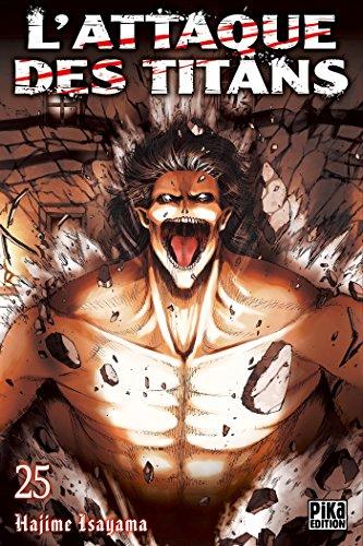L'Attaque des Titans T25 par Isayama Hajime