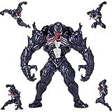 XBWJ PVC Venom Toys 6 Zoll, Venom Action Figure - Höhe Ca. 16 cm, Können Gelenke Aktiv Sein Und Verschiedene Formen Herstellen, Geeignet Für Kinder Ab 3 Jahren