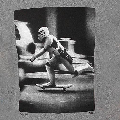 Star Wars Designer T-Shirt Klonkrieger Stormtrooper Rush Hour, mit Labelprint lizenziert grau Grau