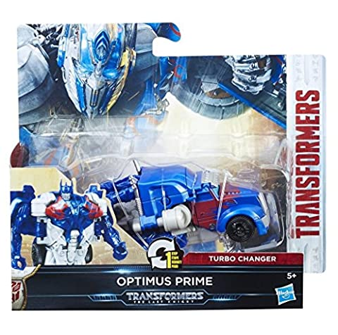 Hasbro Transformers C1312ES1 - Movie 5 Turbo Changer Optimus Prime, Actionfigur