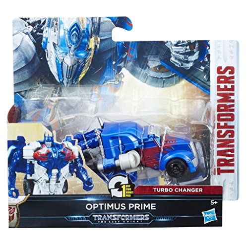 Hasbro Transformers C1312ES0 - Movie 5 Turbo Changer Optimus Prime, Actionfigur (Transformers Prime 4 Optimus)
