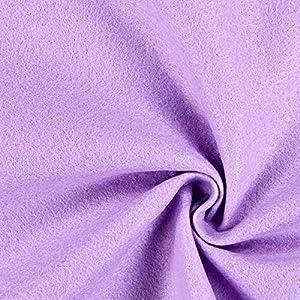 Fabulous Fabrics Filzstoff Flieder, 1 mm dick, 90 cm breit - Filz zum Nähen und Basteln von Taschen, Tischdeko, Filzkörbe und Wohnaccessoires - Meterware ab 0,5m