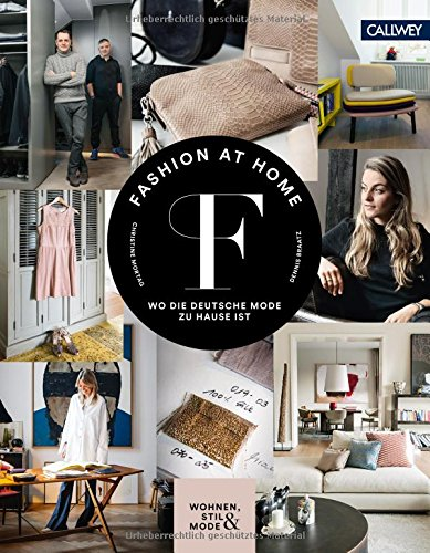 Fashion at Home: Wo die deutsche Mode zu Hause ist Buch-Cover