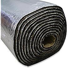 lingda alfombrilla de calor Shield Deadener de pruebas aislamiento térmico sonido 10 mm Coche Tamaño impermeable