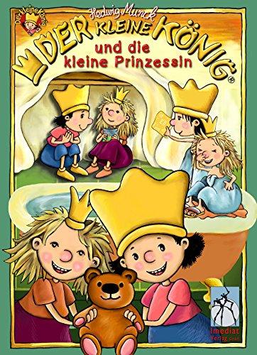 Der kleine König und die kleine Prinzessin: 3 Bilderbücher