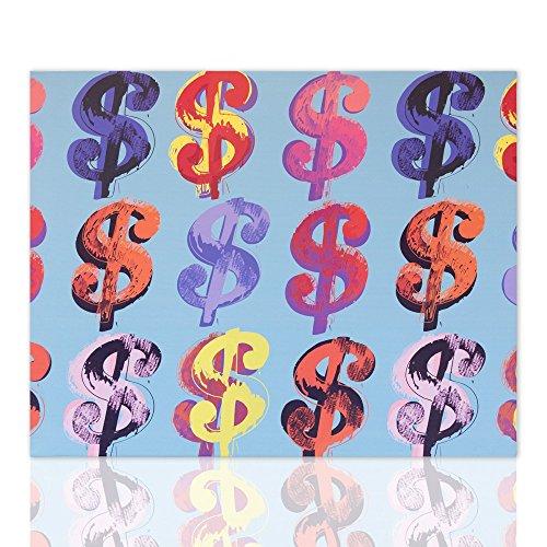 Reproducción En Lienzo De Andy Warhol Dollar Sign Interiores De Canvas Pintura En Lienzo En Pop Art Ready On Hang Decoración Moderna Disponible En