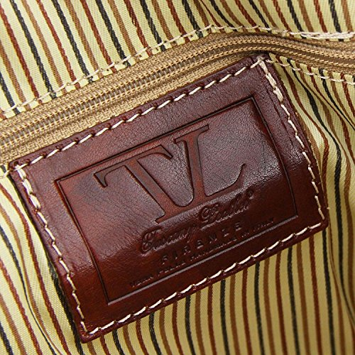 Tuscany Leather - Berlin - Sac de voyage en cuir - Petit modèle Marron - TL1014/1 Marron