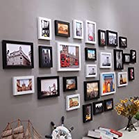 WUXK Die Nordischen Minimalistischer Dekoration Wohnzimmer Wand Foto Frame  Wand Kreativ Continental Bilderrahmen Wand Foto Wohnwand