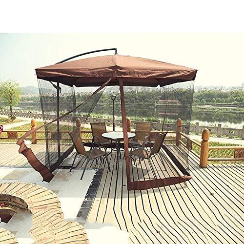 Camping Regenschirm Mosquito Netz Canopy Patio Set Screen House (Schwarz Canopy-netz Für Bett)