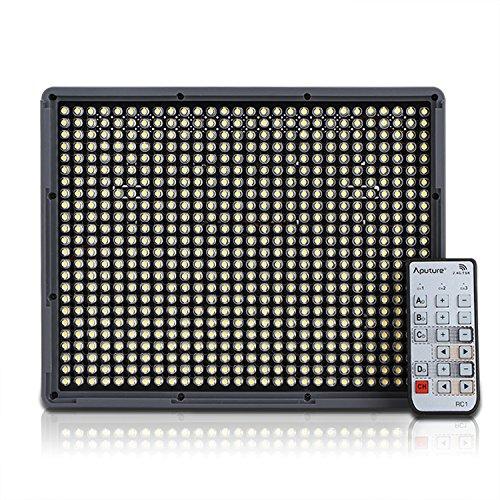 Aputure Amaran HR672W CRI95 LED-Videoleuchte für Camcorder und DSLR-Kameras mit kabelloser Fernbedienung