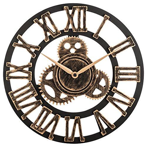 Reloj de pared grande en 3D