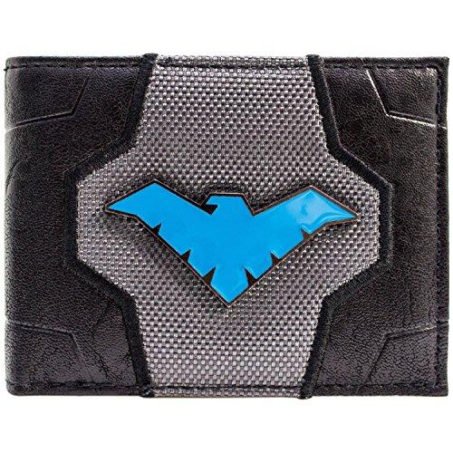 Arkham Knight Nightwing Aufrüsten Metal Badge Logo Blau Portemonnaie ()