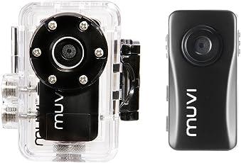 Veho VCC-004-ATOM-NPNG Muvi Super Micro Dv No Proof No Glory Edition Camcorder (2.0 Megapixel, USB) inkl. 4GB Speicherkarte schwarz