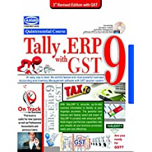 Tally.Erp Quintessential Course With Free Cd+Vat Book