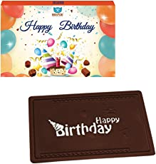 Bogatchi Birthday Greetings Dark Chocolates, 70g