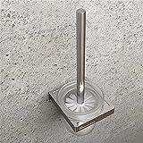 LOSTRYY Creative spazio europeo di alluminio spazzola per WC tazza WC con testa a spazzola