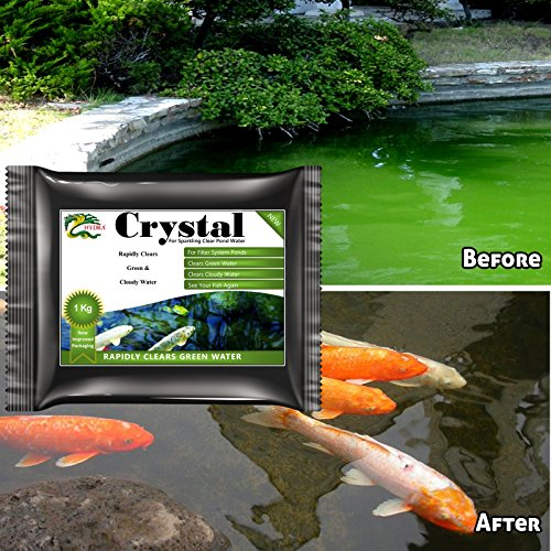 hydra-crystal-1-kg-for-pond-green-water-removal-with-exterior-filter-systems-treats-up-to-10000-litr