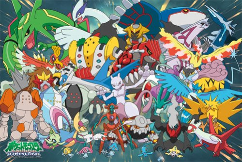 500-l97-pokemon-our-vision-and-500-piece-pokemon-diamond-pearl-legends-japan-import