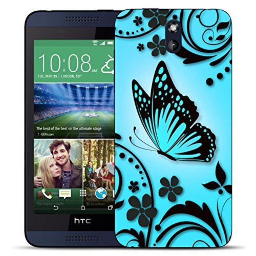 mobile-case-mate-htc-desire-610-clip-on-hard-case-cover-bumper-blue-caress-pattern-with-stylus-pen