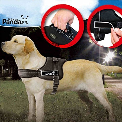 dog-harness-adjustable-chest-strap-and-soft-padding-no-pull-harness-with-handle-for-easy-control-bes