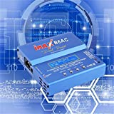 Blau 80W iMAX B6AC 100V-240V Lipo NiMH 3S RC Lithium-Batterie Balance Ladegerät Digital LCD-Bildschirm RC Hobby