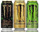 Monster Java 3pack: Kona Blend, Mean Beam, Irish Blend