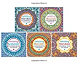 Refreshing Mandala - Colouring Book for Adults (Pack of 5 Titles)