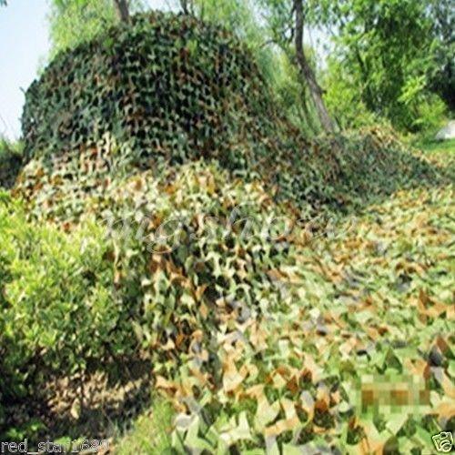 NuoYa005 Military Camouflage Woodlands Blätter, 2 m X 3 m, für Camping, Jagen, Camouflage -
