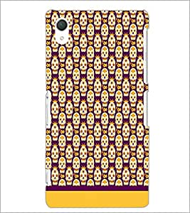 PrintDhaba Pattern D-1631 Back Case Cover for SONY XPERIA Z2 (Multi-Coloured)