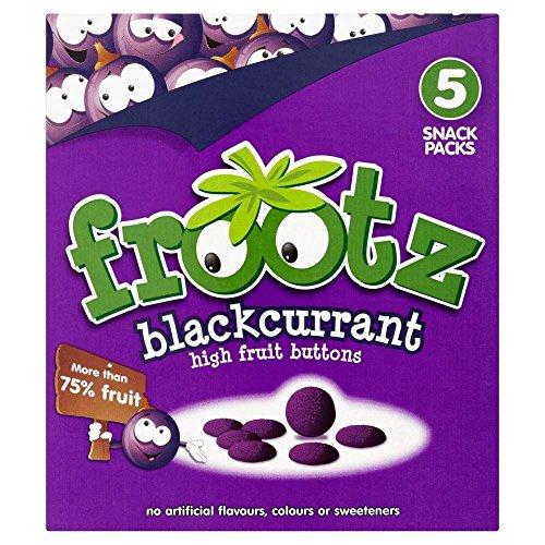 Frootz Cassis Haute fruits Boutons (5x18g) - Paquet de 6