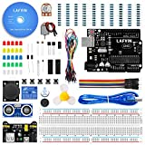 LAFVIN das Basic Starter Kit für Arduino mit UNO R3, Steckbrett, LED, Widerstand, Schaltdrähte und Stromversorgung