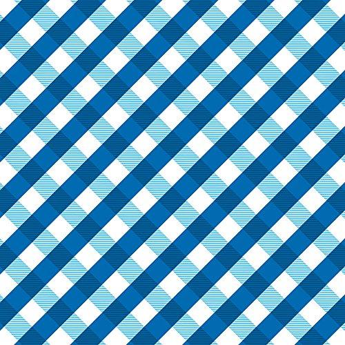 Apple iPhone 5s Housse Étui Protection Coque Carreau Bleu Bleu Étui en cuir marron