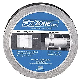 Aquasol EZ-ZT2.5 EZ Zone Welding Tape 2-1/2 Inch x 75 Feet