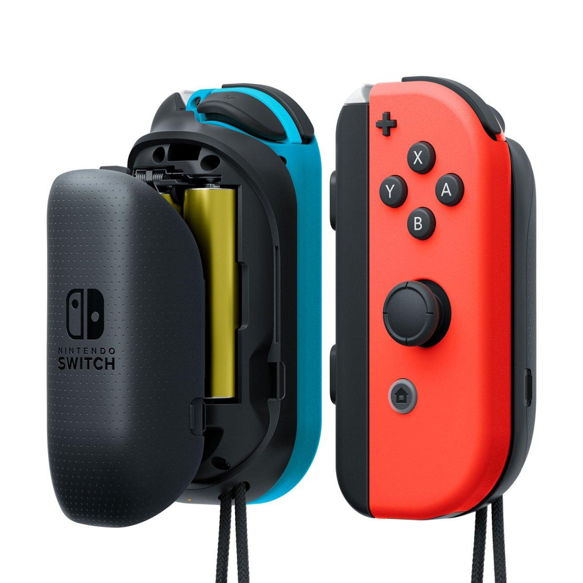 Nintendo – Cargador Para Joy-Con Con Pilas AA (Nintendo Switch)