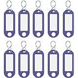 mit vernickeltem S-Haken 7 Farben Reiher Schlüsselanhänger aus Kunststoff
