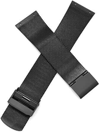 Sostituzione del cinturino per orologio in acciaio inossidabile da 22 mm per Skagen