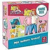 ASS 22505222 Bibi und Tina® - Game Box, Karten im Format 62 x 100 mm, spezielles Extra, in Klappschachtel O