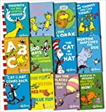 Dr. Seuss Set of 14 Books: Bright and Early Beginning and I Can Read It All By Myself (Fox in Socks, Green Eggs and Ham, Hop on Pop, Are You My Mother, Cat in the Hat, Cat in the Hat Comes Back, A People House, Wocket in my Pocket, One Fish Two Fish, Foot Book, Marvin K. Mooney, I Can Read Eyes Shut, A Book, B Book)