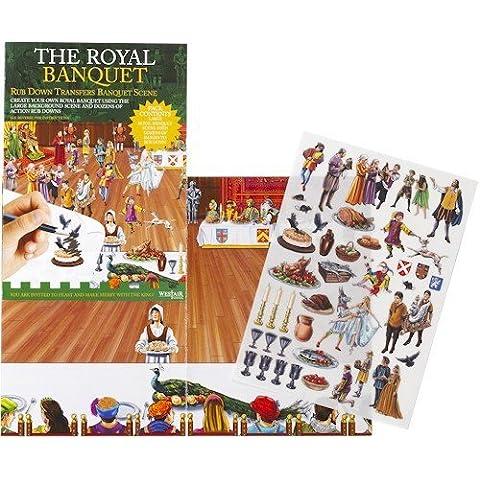 Il Royal Banchetto - Strofinare Trasferibili Banchetto Scena
