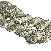 knitsilk 3 capas de seda hilo sólido colores, 50 gramos, 260 m, ideal