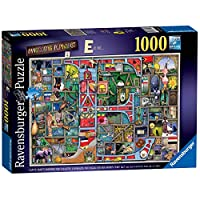 Ravensburger 16420 Colin Thompson-Awesome Alphabet E, 1000pc Jigsaw Puzzle